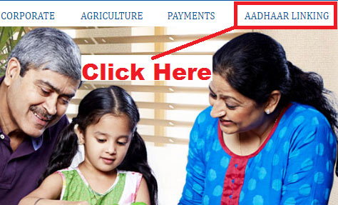 how to link aadhaar card with central bank of india account online