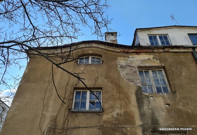 Warszawa Warsaw Mokotów architektura architecture ulice Mokotowa wille modernizm