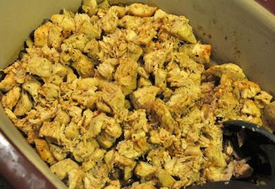 BBQ chicken calzones shredded cooked chicken