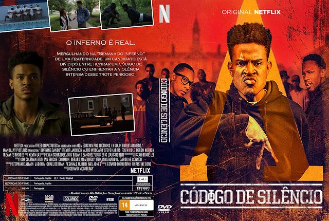 Capa DVD Código De Silêncio [Exclusiva]