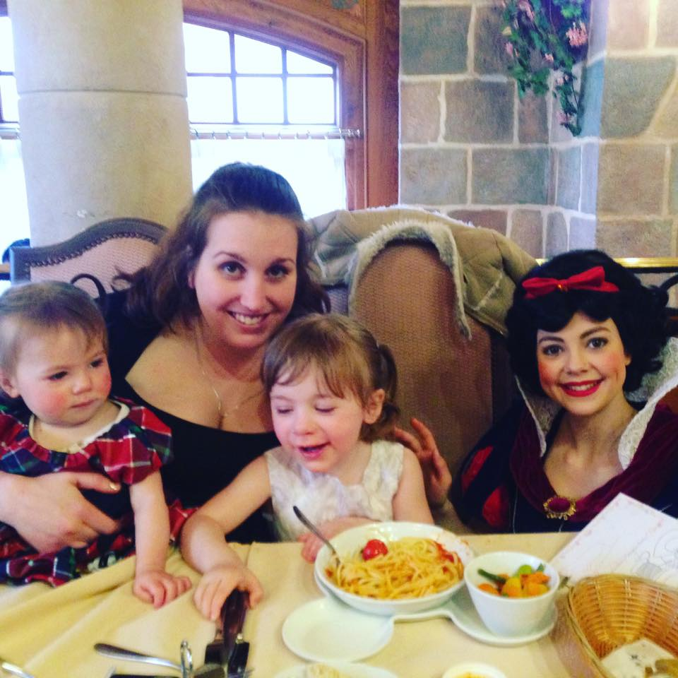 Disneyland Paris lunch with the princesses Snow White at Auberge De Cendrillon