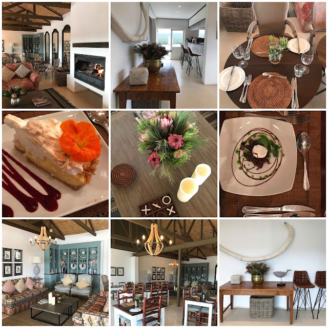Country style design at the Fig Tree Restaurant in the De Hoop Nature Reserve.