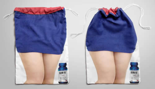 50 Desain Paper Bag/ Tas Belanja Celana Wanita