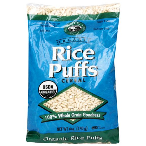 The Delicious Truth: Nature's Path Organic Rice Puffs And