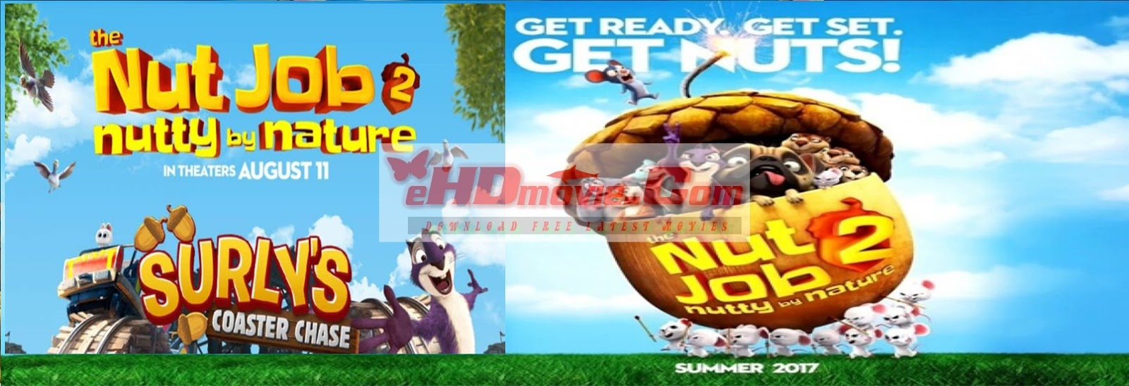The Nut Job 2: Nutty by Nature 2017 Full Movie English 720p - 480p ORG BRRip 400MB - 900MB ESubs Free Download