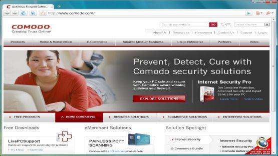 Comodo Browser screenshot 2