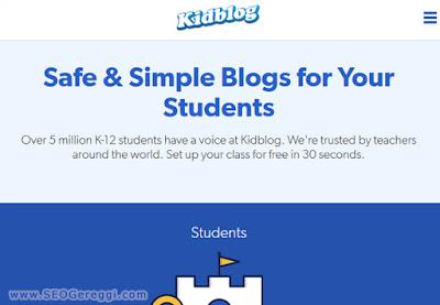 kidblog.org