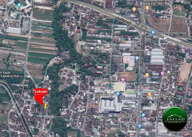 Tanah Cocok Kost dekat Jogja City Mall