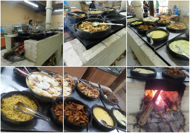 Onde comer em Santa Leopoldina - ES?  Restaurante Véu de Noiva no Parque Cachoeira Véu de Noiva