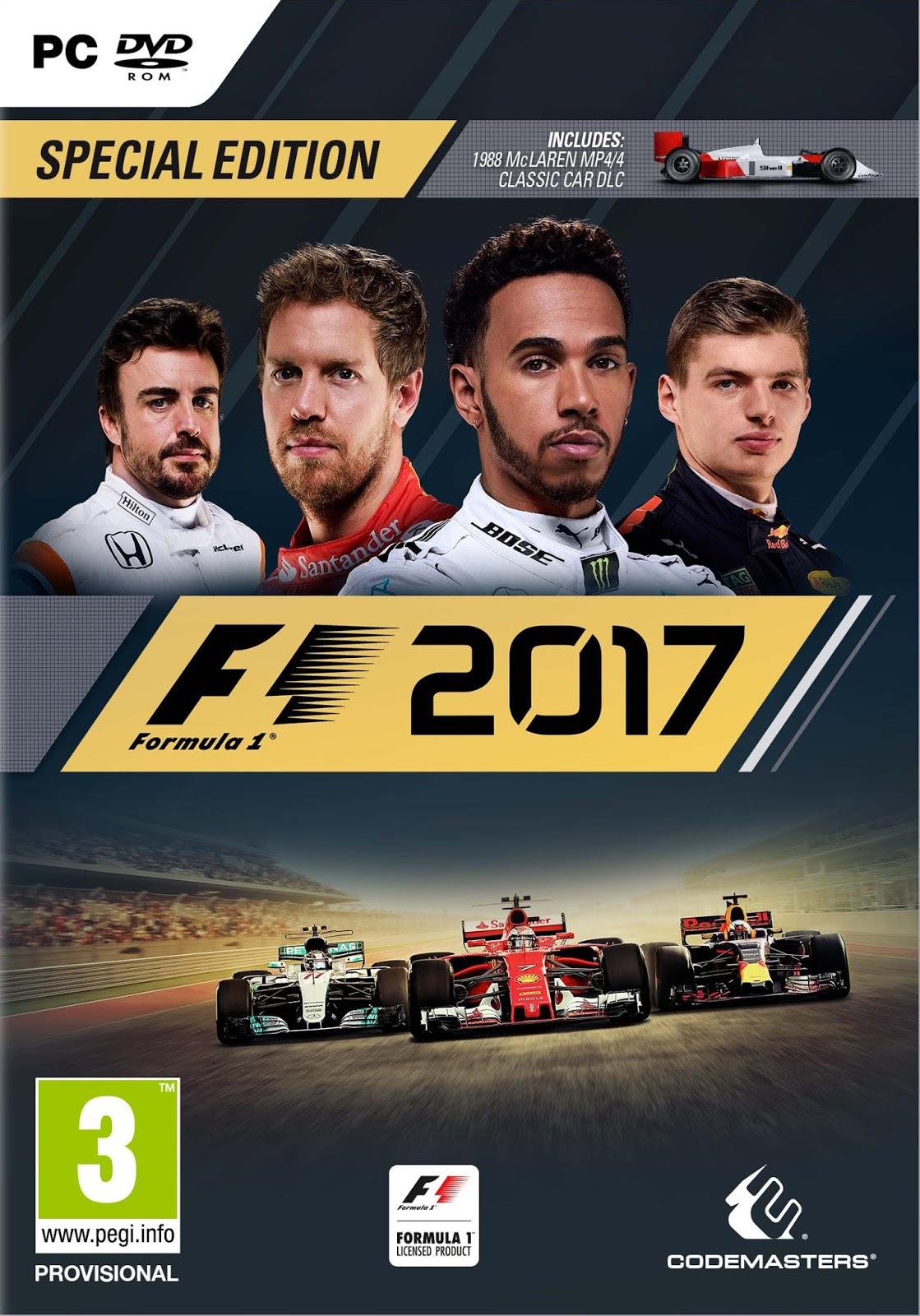 F1 2017 ESPAÑOL PC