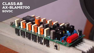 Power Amplifier Class-AB AX-BLAME 90VDC