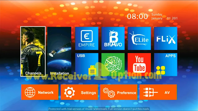 MONTAGE CS8001S 4MB NEW SOFTWARE 19 SEPTEMBER 2021