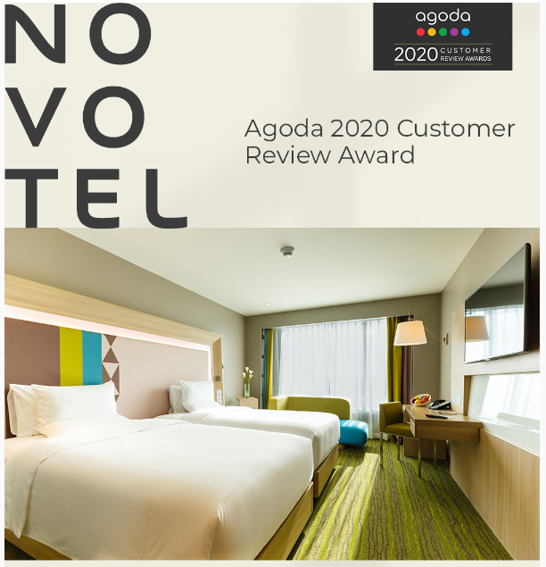 Novotel Manila Receives Agoda 2020 Customer Review Award