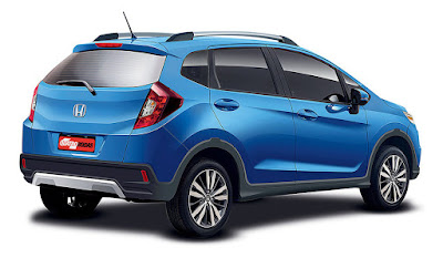 2017; Honda WR-V right side
