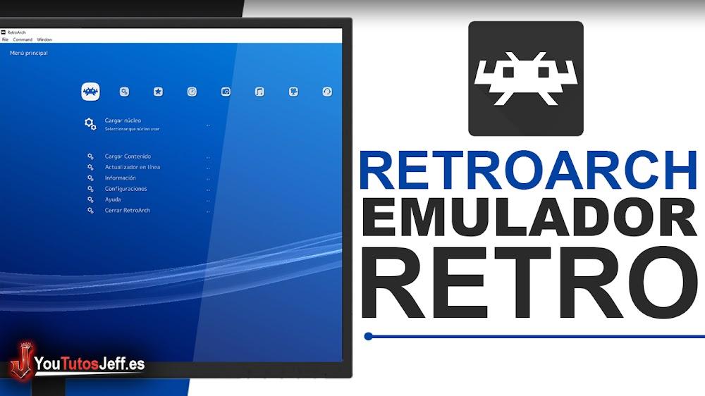 Como Descargar RetroArch Español Ultima Versión - Emulador de juegos Retro