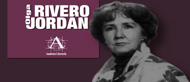 Olga Rivero Jordán  |  Poemas escogidos