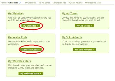 adding websites in Adhitz ad network
