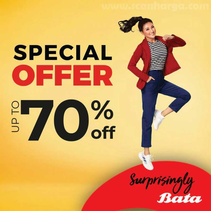 Promo BATA Special Offer Up To 70%
