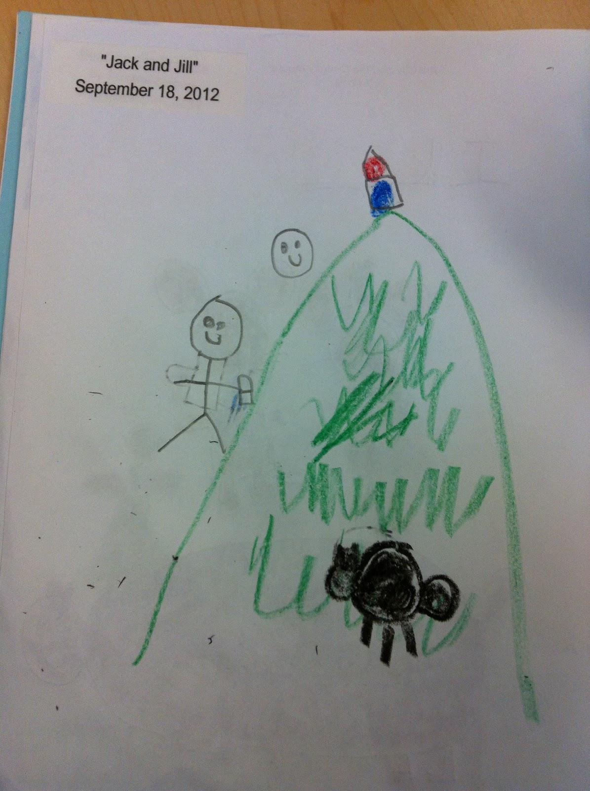 Mrs Doiron S Kindergarten Class Jack And Jill Went Up