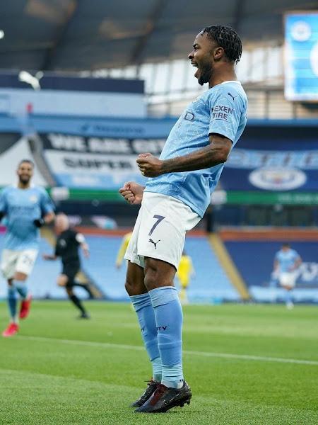 Raheem Sterling has just scored