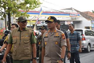 Jelang Pungut Dan Hitung Hasil Pilwu 2019  Forkompinda Kabupaten Cirebon Monitoring Langsung Ke lokasi Untuk Pastikan Tidak Ada kendala Apapun