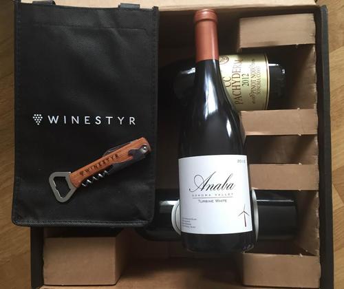 WINESTYR Wine Club, Anaba Sonoma Valley 2012 Turbine White