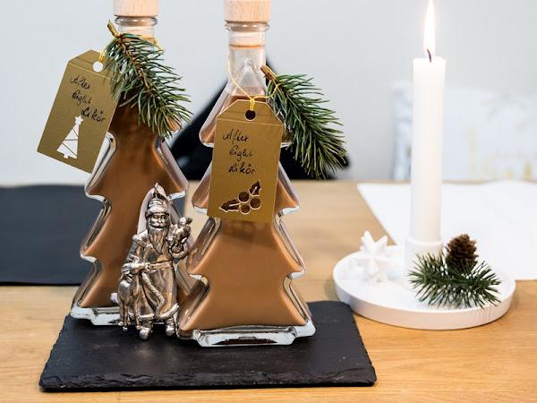 Geschenksidee aus der Küche | Rezept für himmlischen After-Eight-Likör