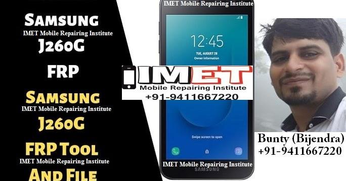 Samsung SM-J260G FRP Unlock | Samsung J260G FRP Tool & File