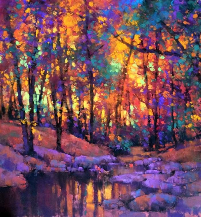 Американский художник. Teresa Saia