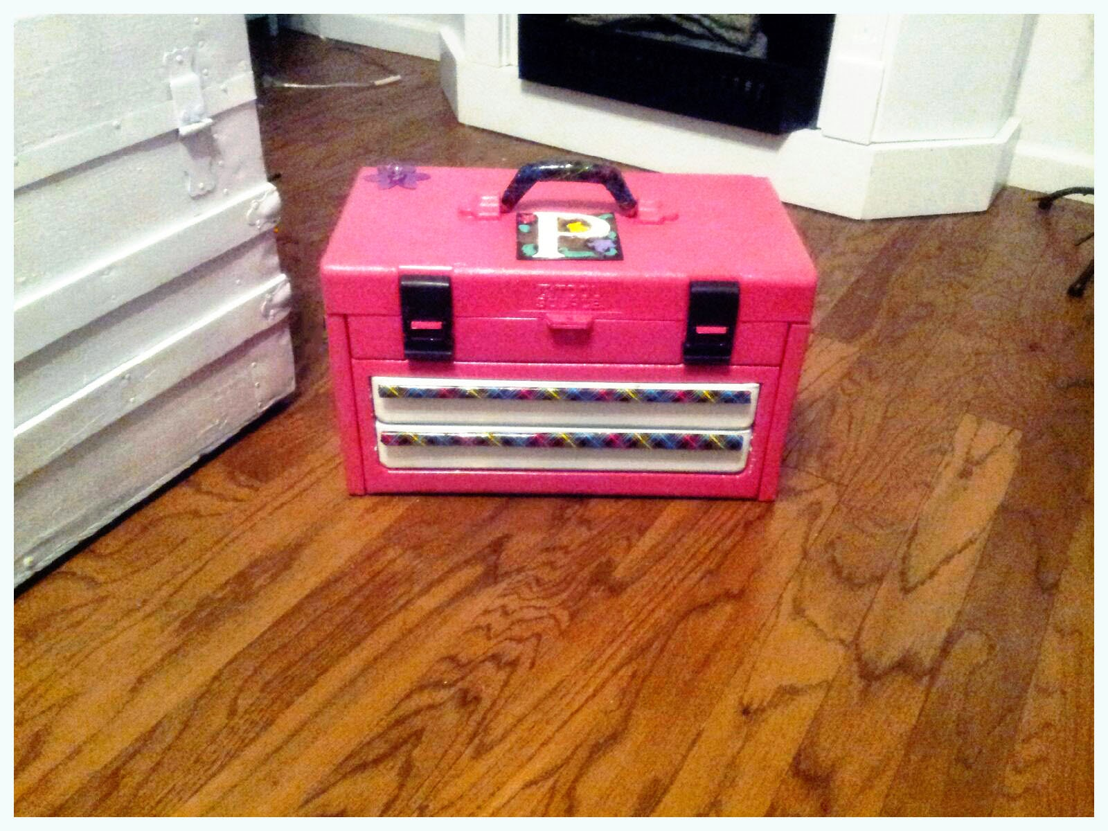 Tool Box Makeover