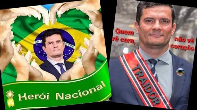 Moro vai de herói nacional a traidor nas redes sociais