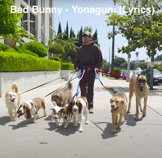 Bad Bunny - Yonaguni (Lyrics)