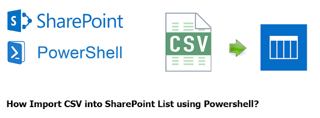How Import CSV into SharePoint List using Powershell?