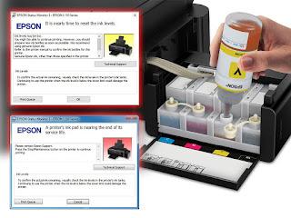 printer epson tiba tiba tidak bisa digunakan untuk mencetak
