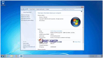 Windows 7 Ultimate SP1 32 BIT (x86) Update April 2016