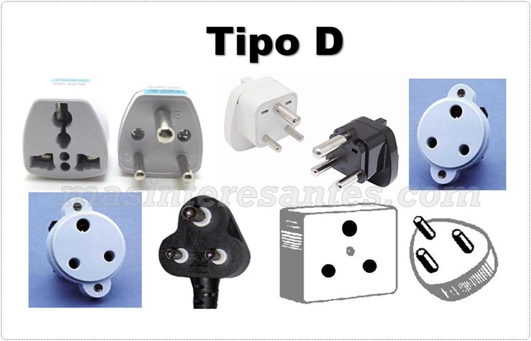 tomacorrientes Tipo D
