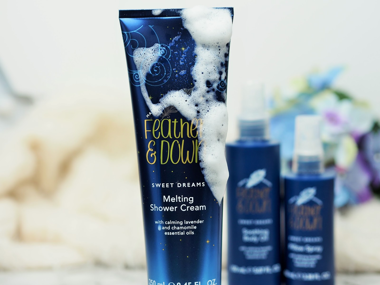 Sweet Dreams Melting Shower Cream Feather & Down