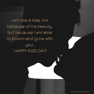 Happy Kiss Day Quotes
