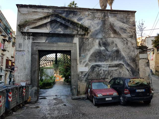 Murales-Speranza nascosta di Francisco Basoletti-Rione Sanità-Napoli