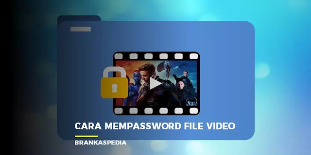 cara password video