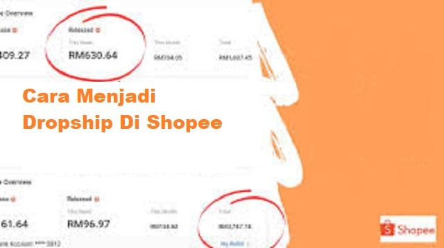 Cara Menjadi Dropship di Shopee