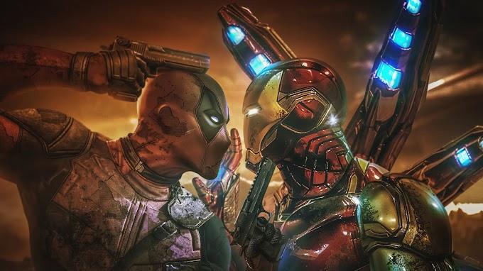 Deadpool e Homem de Ferro