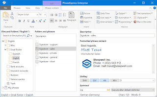 تحميل برنامج PhraseExpress: نص تلقائي مجاني ومدقق إملائي, الملك التقني