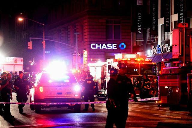 Explosão em Nova York hoje - MichellHilton.com