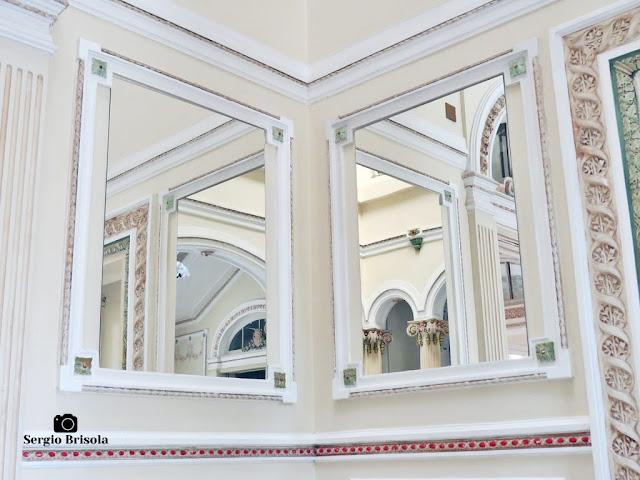 Palacete Basílio Jafet (espelhos do Hall)