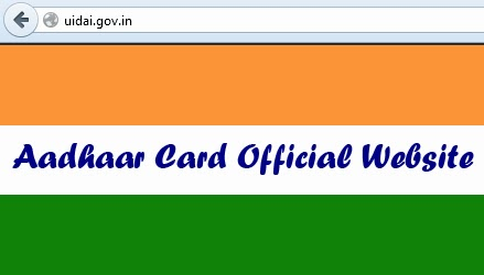Aadhaar Card Official Website