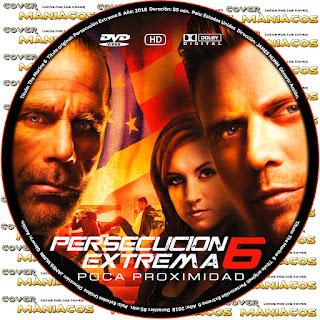 GALLETAThe Marine 6 Close Quarters - PERSECUCION EXTREMA 6 [ COVER DVD]