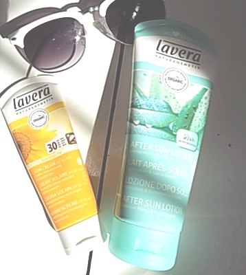 Lavera SPF30 Sun Cream  |  Lavera After Sun Lotion