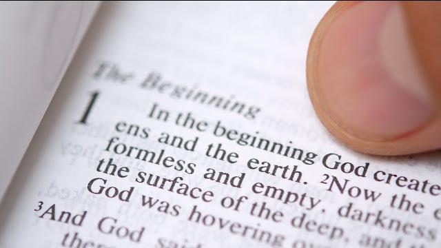 John 1:1 and Genesis 1:1.