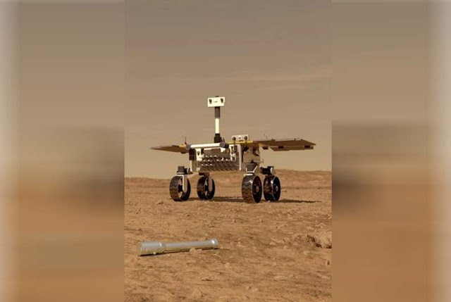 """This is the first time China has landed a Rover or """"probe"""" if you want, on a planet other than Earth."""
